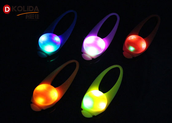 Tahan Air Berkedip Keselamatan Pet Dog Collar Blinker Silicon Spotlight