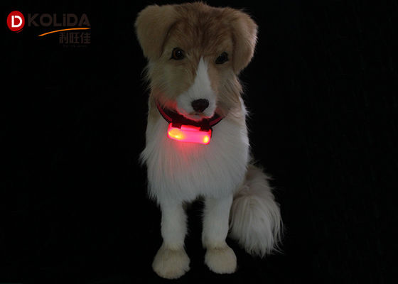 Cina Tahan cuaca Nylon LED Flashing Dog Night Light Attacher Pet Lindungi Kerah Distributor